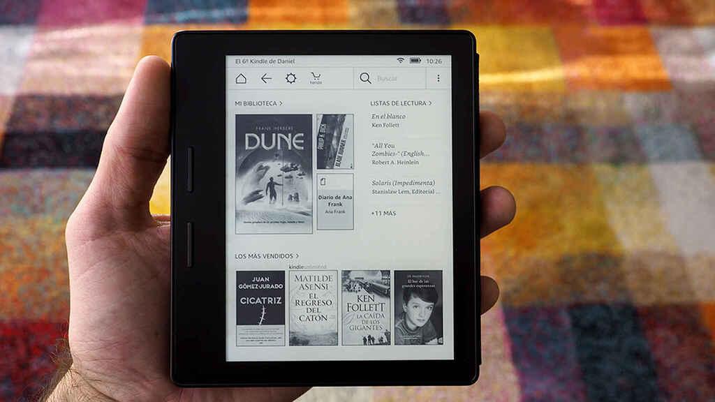 eliminar borrar libros Kindle