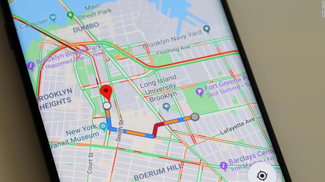 guardar lugares favoritos Maps