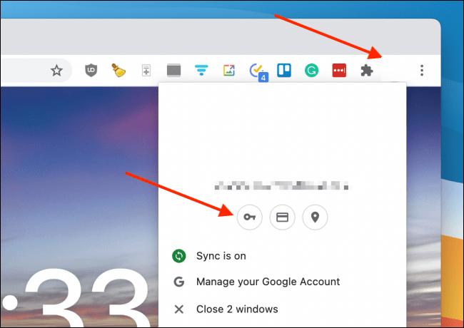 Ingresar a mi perfil en Chrome para exportar contraseñas.