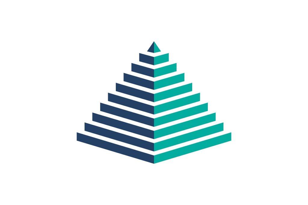 pirámide PowerPoint 2