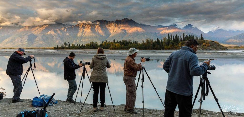 trípode para fotografías de paisajes 3