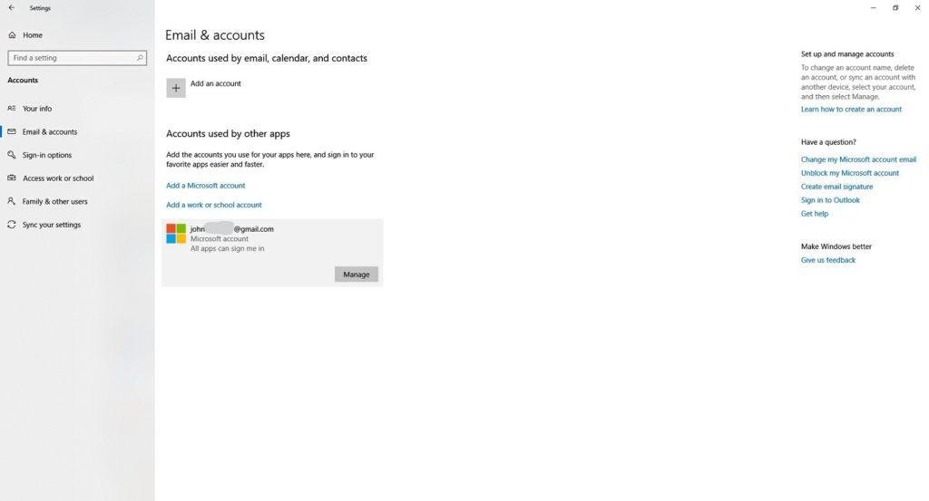 Cuenta local Microsoft 4