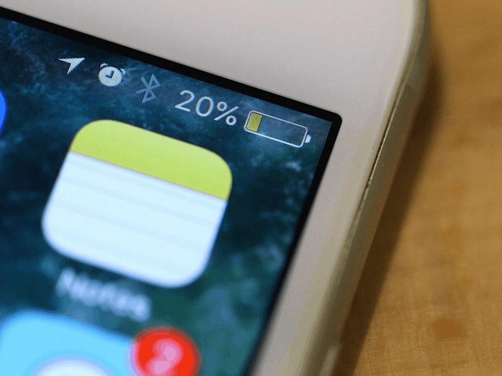 Error al cargar el porcentaje de la batería del iPhone: ¿qué hacer?