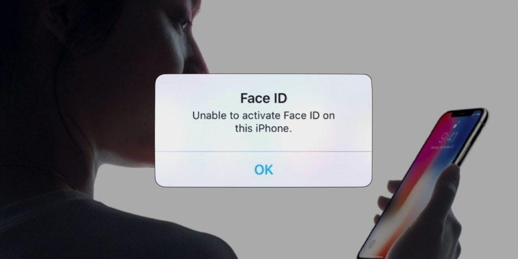 Face ID no funciona 2
