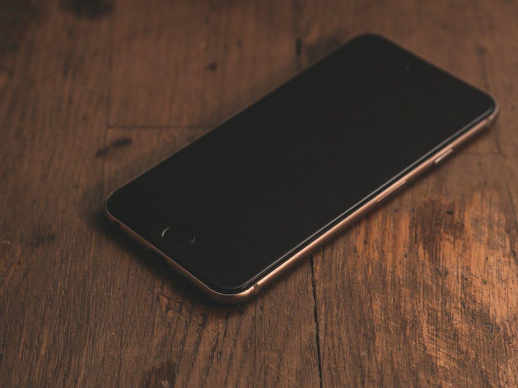 Solución pantalla negra iPhone 1