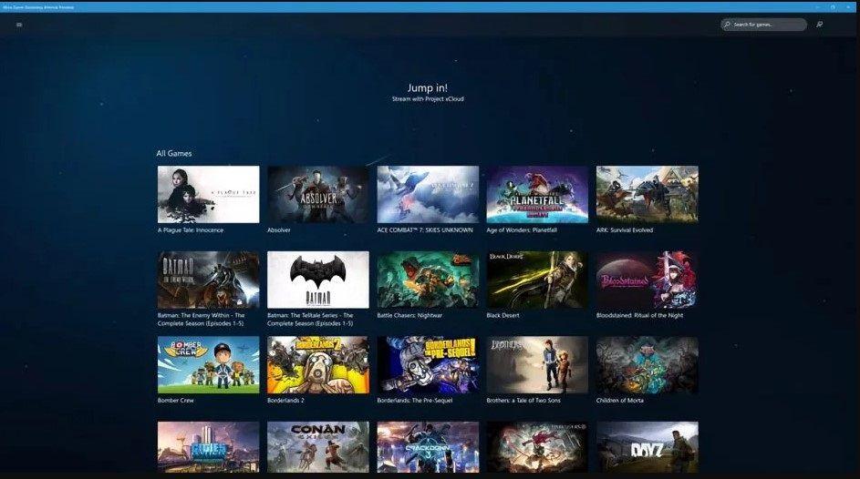 Xbox Game Streaming disponible en Windows