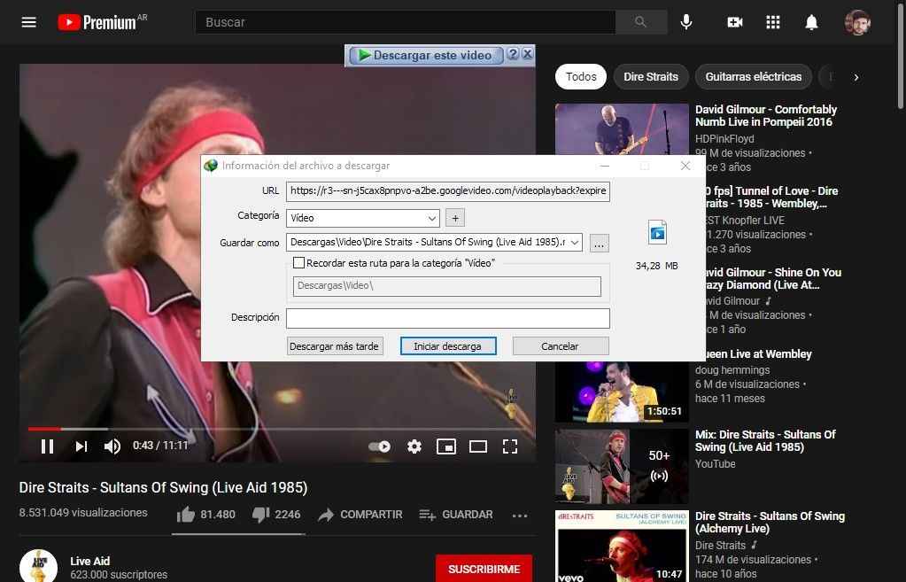 YouTube Internet Download Manager 3