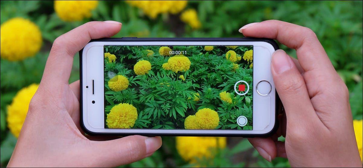 Cómo habilitar o activar la grabación de vídeo HDR en iPhone