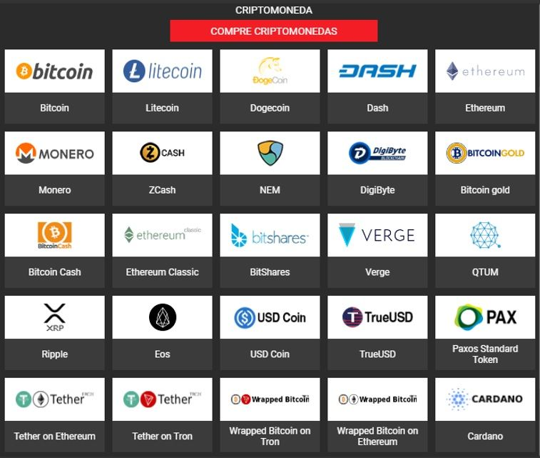 monedas para apostar en bitcoin