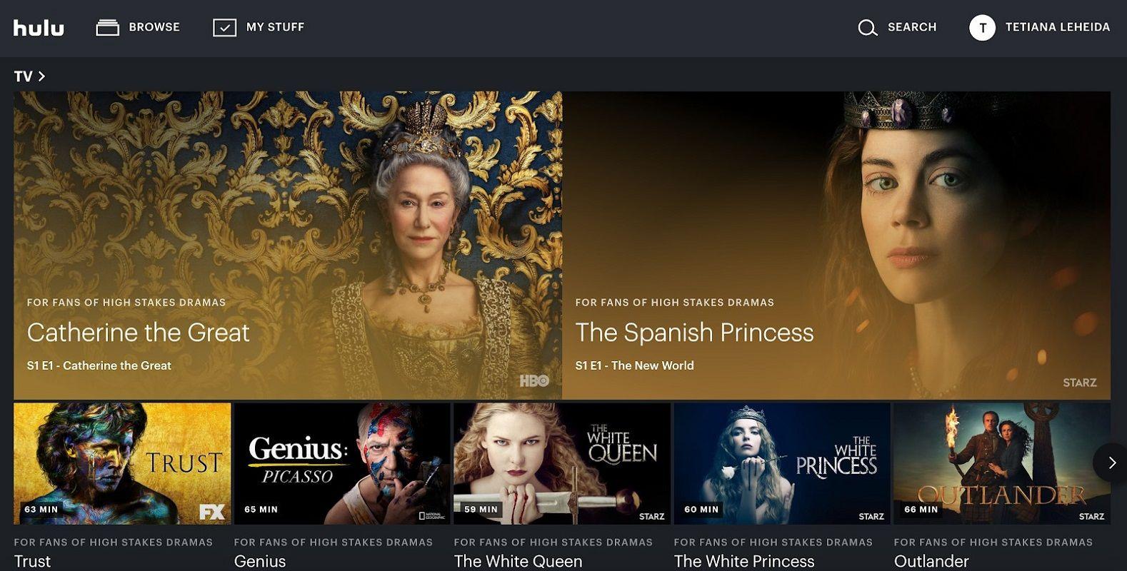 cancelar suscripción Hulu 1