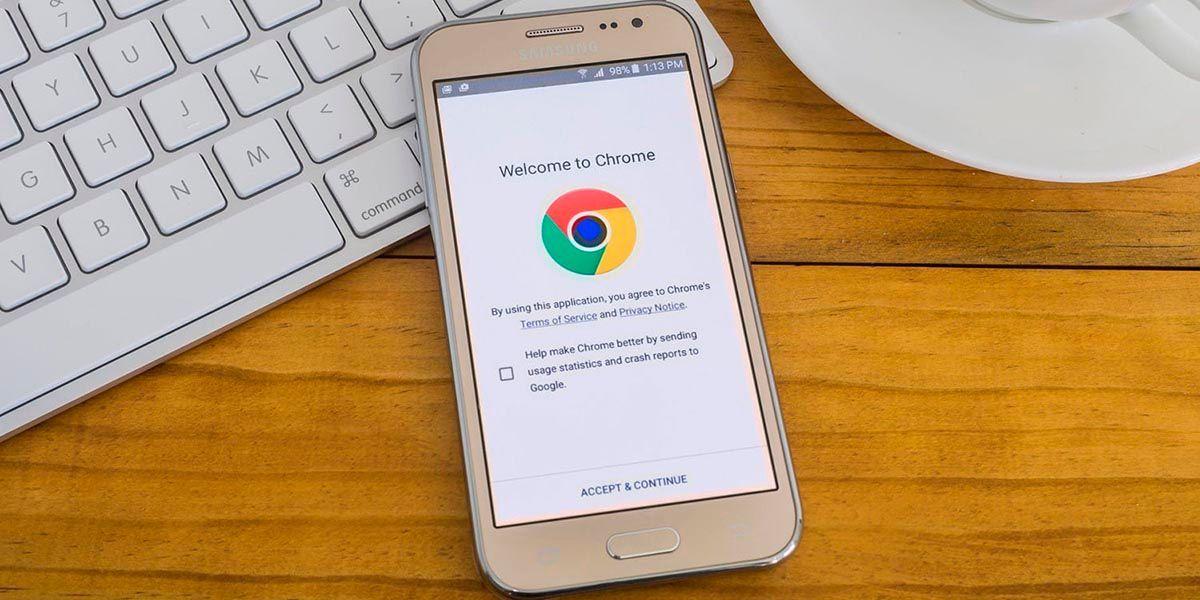 Habilitar lista de lectura de Chrome para Android.