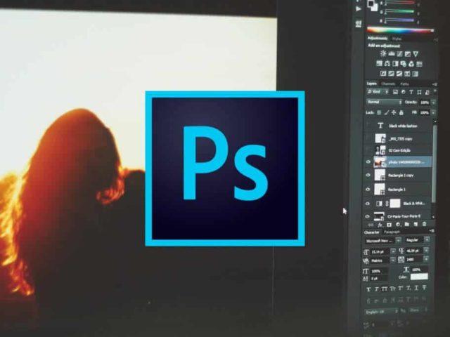 Cómo ocultar y mostrar elementos del menú en Photoshop