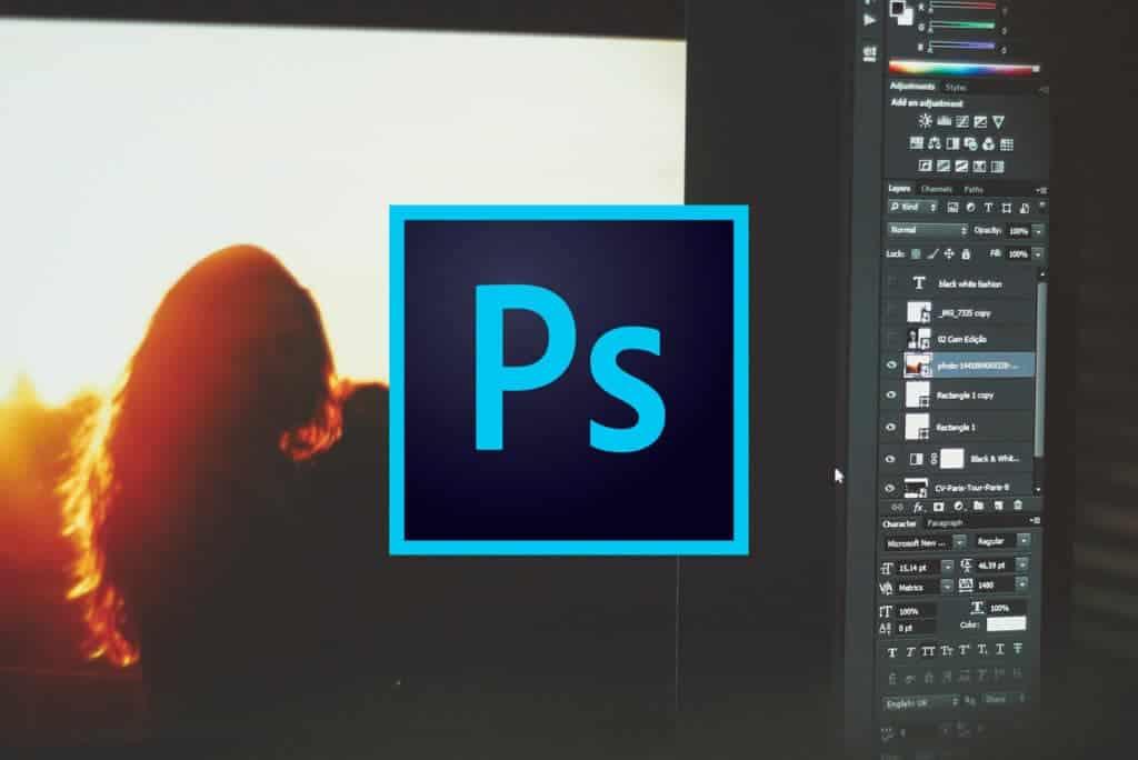 Cómo ocultar los elementos del menú en Photoshop