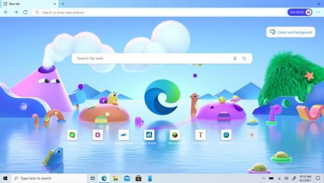 Cómo habilitar y usar el modo niños Microsoft Edge