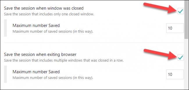 Sincronizar las pestañas cuando cerramos el navegador.