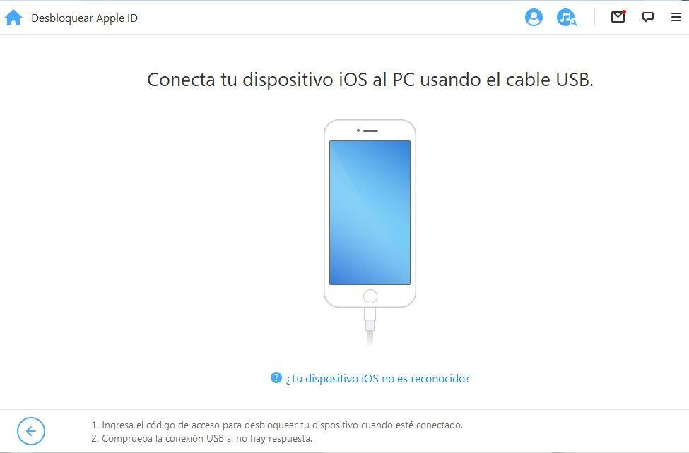 desbloquear Apple ID iPhone 3