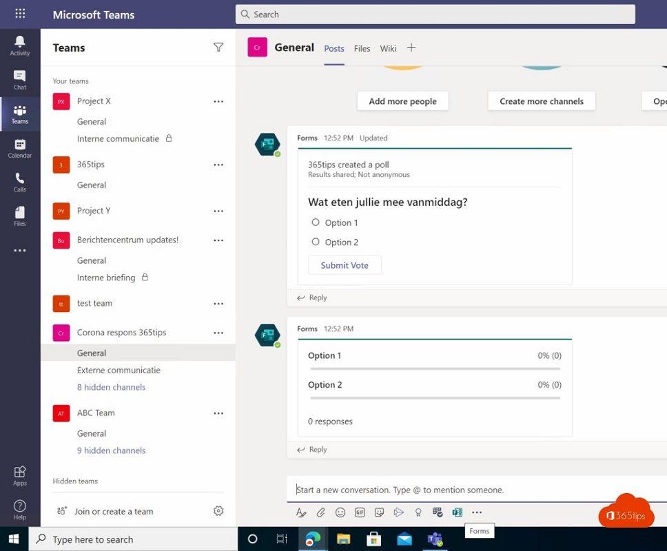 encuestas Microsoft Teams 2
