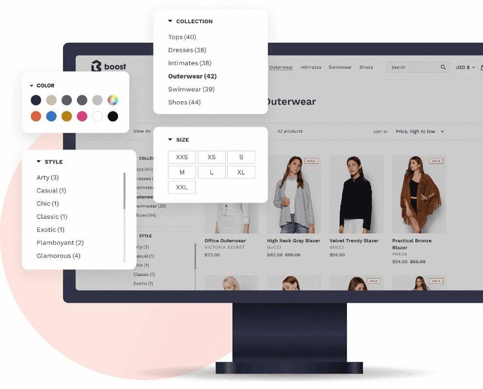 optimizar filtros comercio electrónico 1,25