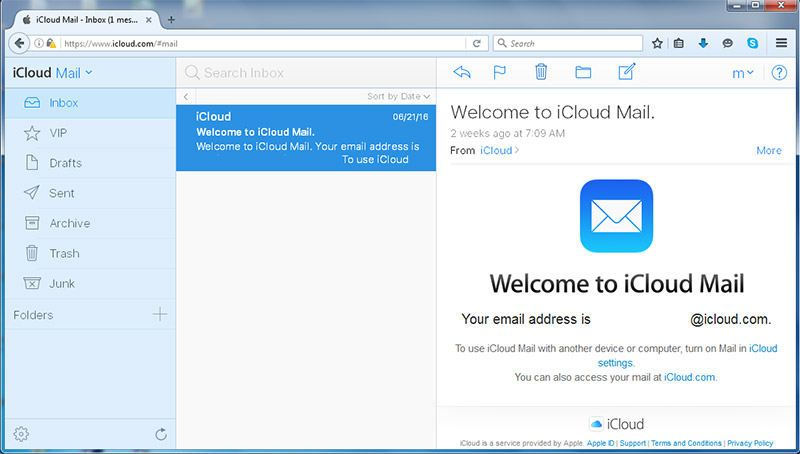 Cómo acceder a iCloud Mail desde cualquier navegador web.