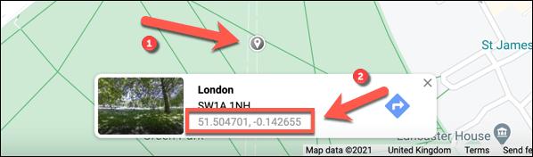Así es como podemos poner PIN Google Maps de forma manual.