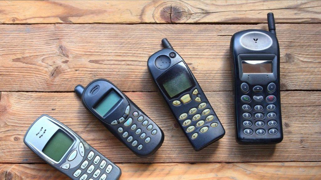 teléfonos antiguos redes modernas 4
