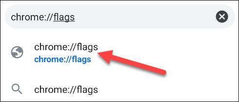 Vamos a las opciones flags de Chrome.