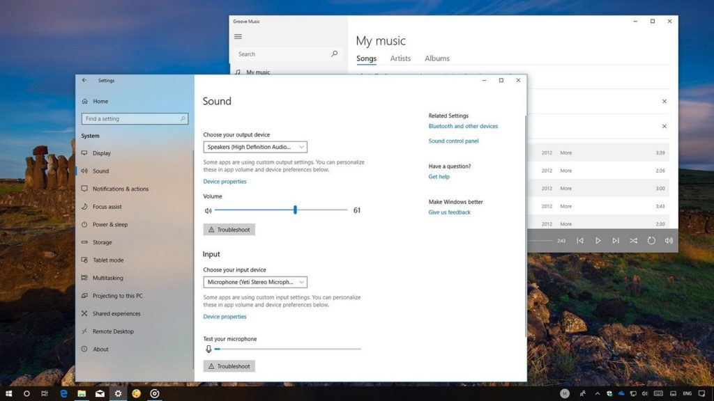 volumen máximo Windows 10 2