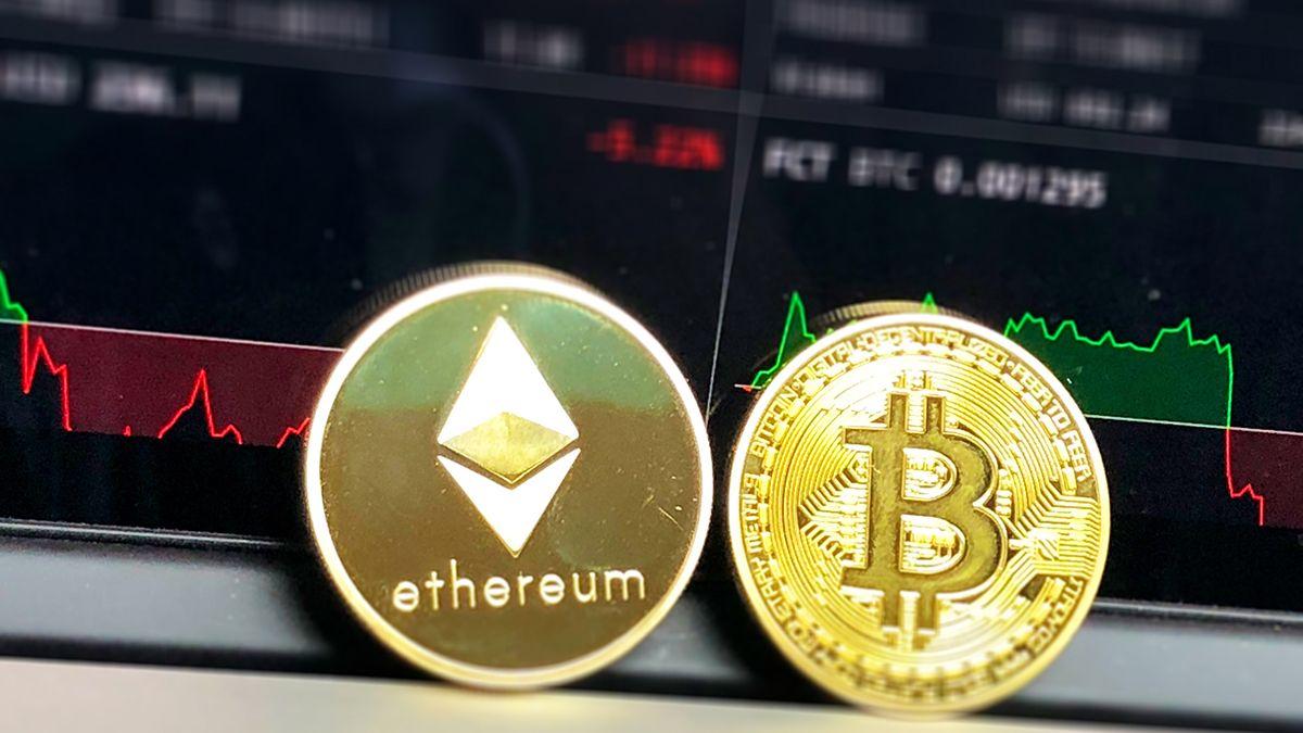 Bitcoin Ethereum trayectorias precios 1