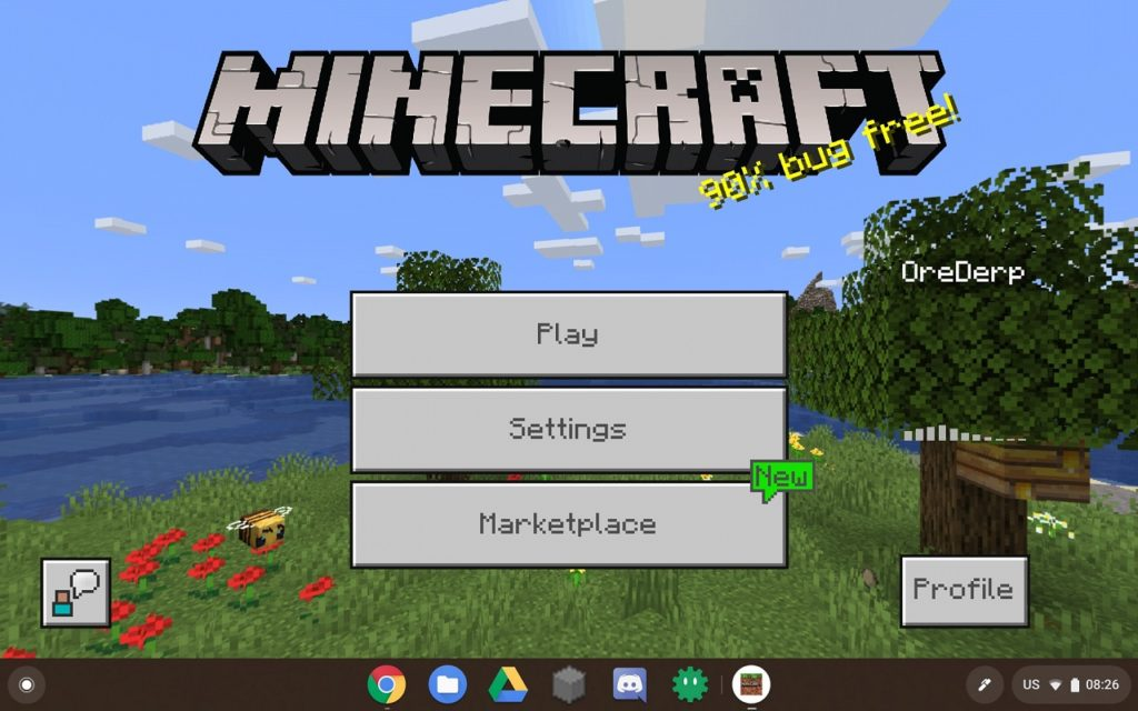 Minecraft Java Chromebooks ARM 2