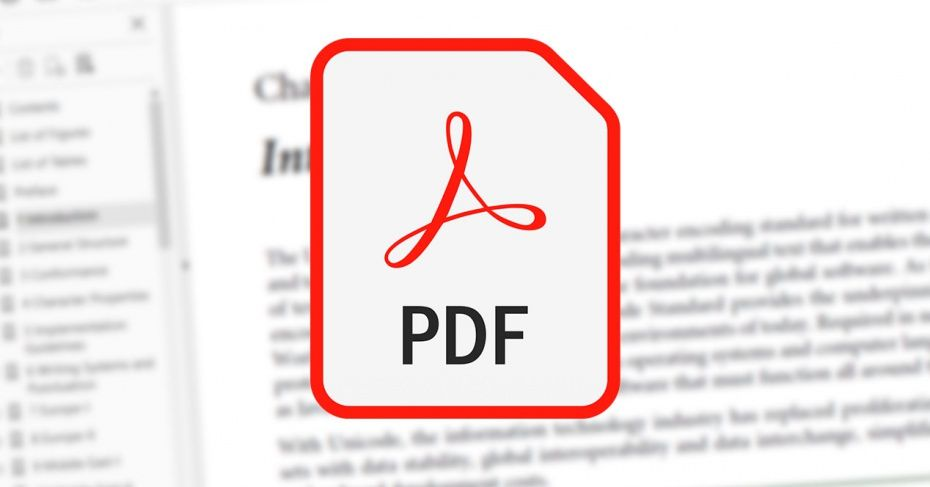 Adobe Acrobat, el programa PDF de Adobe.
