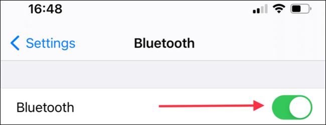 Activamos Bluetooth.