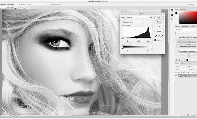 Cómo cambiar entre tema claro u oscuro en Photoshop