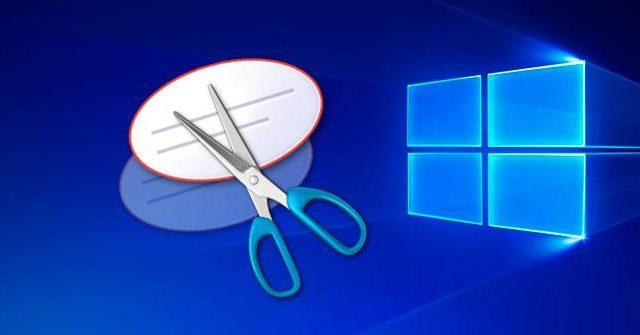 Cómo tomar captura de pantalla en Windows 10 sin teclado