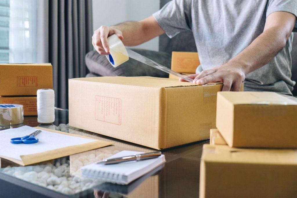 comercio online sobres madera paquetería