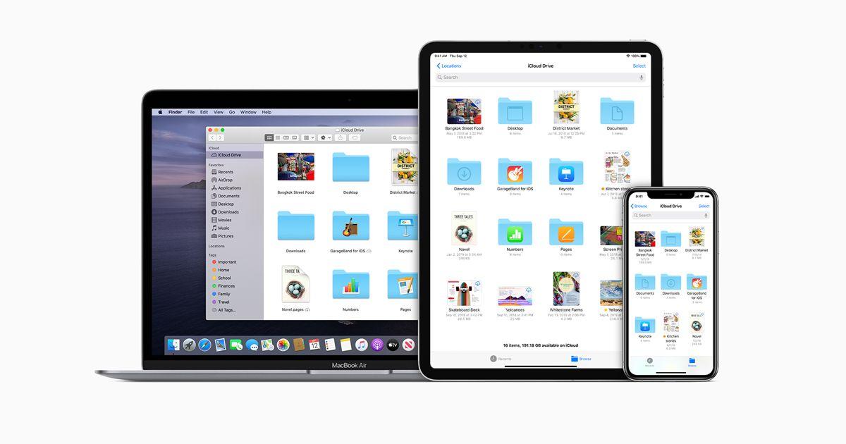 Cómo desactivar sincronización iCloud en carpetas de escritorio y documentos en Mac