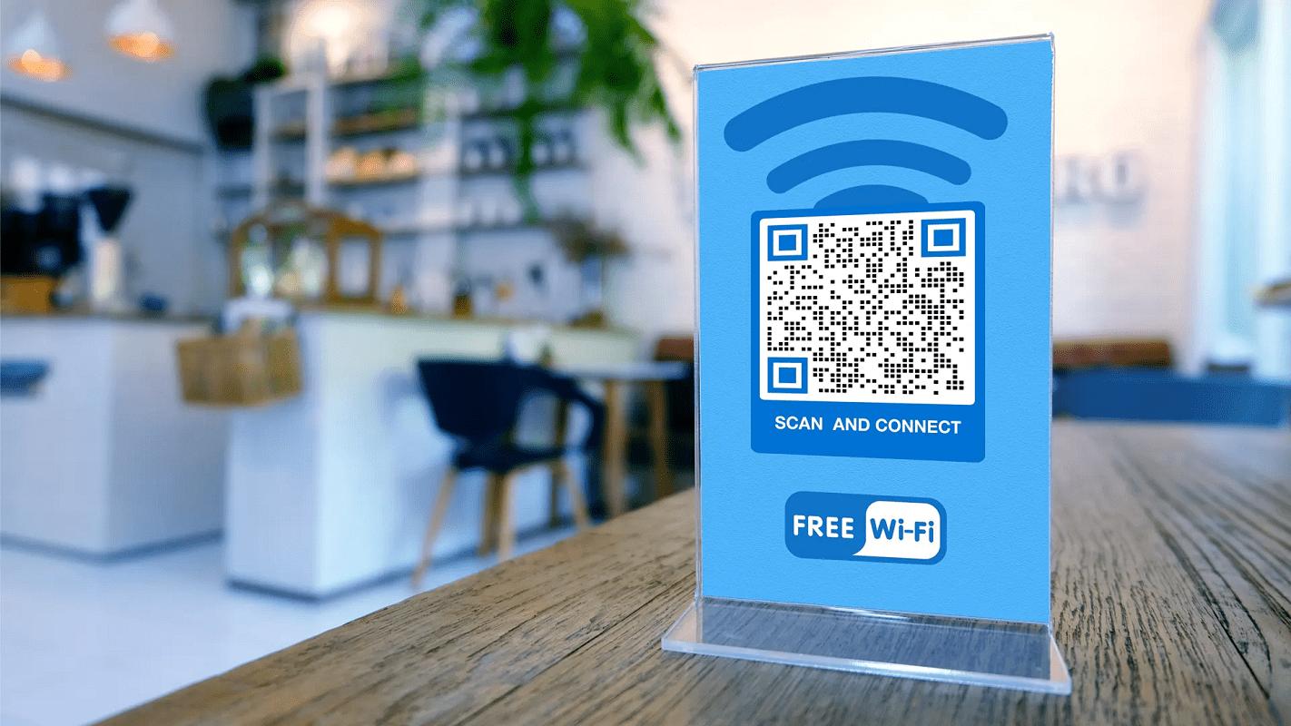 compartir WiFi código QR 1
