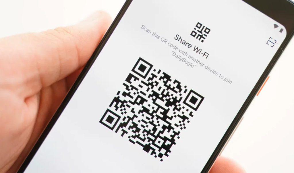 compartir WiFi código QR 2