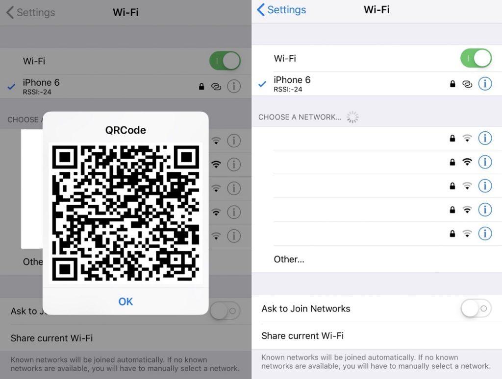 compartir WiFi código QR 3