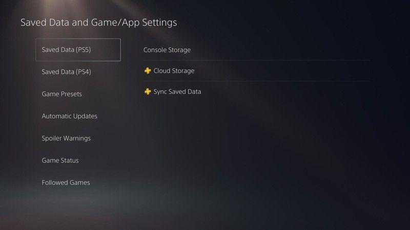Elegimos PS4 o PS5 dependiendo de nuestra consola y datos.