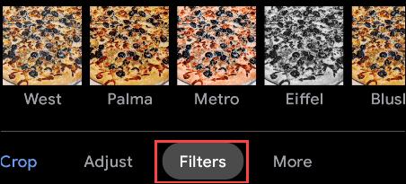 Con los filtros podemos editar fotos en Android como si lo hiciéramos en Instagram.