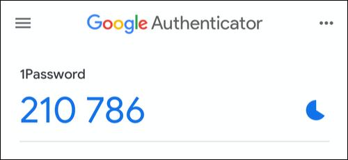 Con Google Authenticator es la mejor foram de configurar autenticación en dos factores 1Password