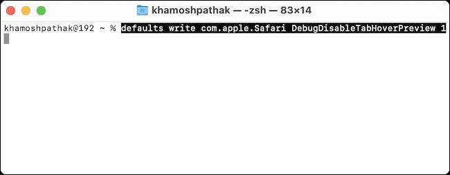 Ya hemos conseguido desactivar la vista previa de las pestañas de Safari en Mac.