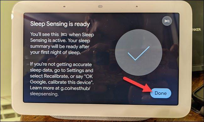 De esta forma podemos hacer un seguimiento del sueño con Google Nest Hub.