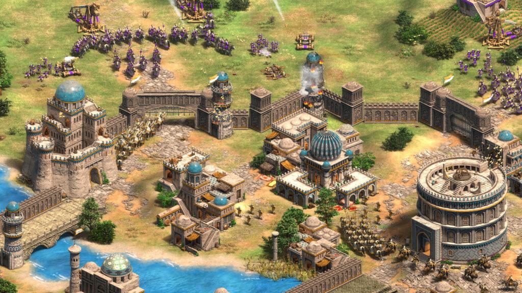 Uno de los mejores juegos ligeros para PC es Age of Empires.