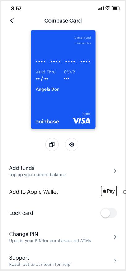 Coinbase Apple Pay 4