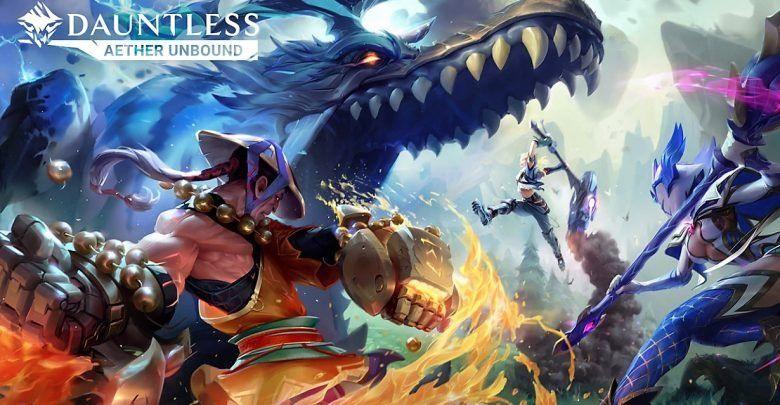 El juego inspirado en Monster Hunter es Dauntless.
