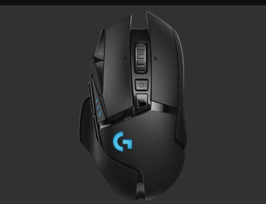 Logitech G502 Lightspeed. Uno de los mejores ratones para juegos y productividad, aunque bastante costoso.