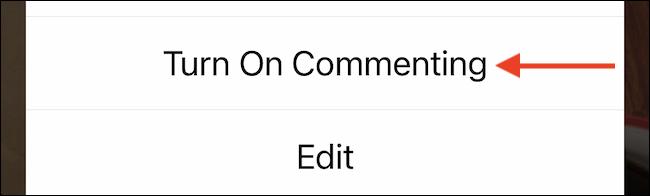 Activar comentarios.