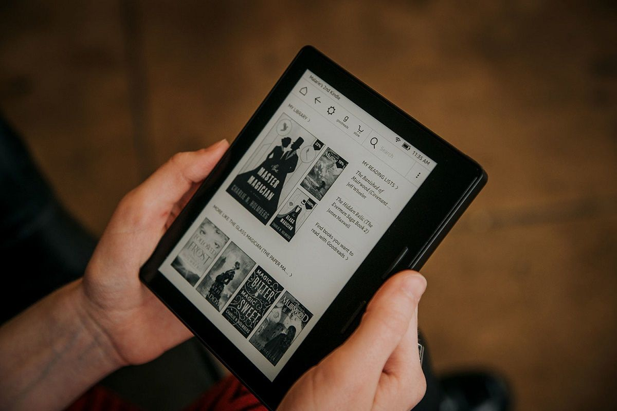 actualizar software Kindle 1