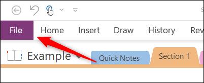Cómo convertir bloc de notas de OneNote  en PDF Windows.